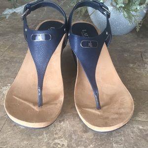 Ralph Lauren navy sandals
